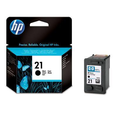 Hp inktcartridge: 21 originele zwarte inktcartridge