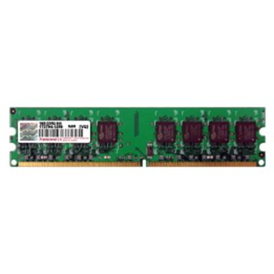 Transcend 1GB DDR2-800/PC6400 240-pin DIMM 5-5-5 - 128Mx8 RAM-geheugen