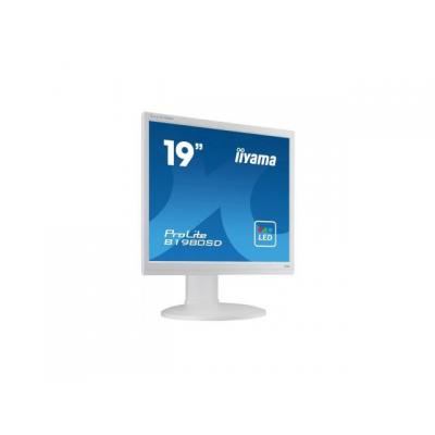 "Iiyama monitor: ProLite B1980SD-W1 19"" SXGA TN - Business - Wit"