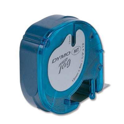 Dymo labelprinter tape: 12mm LetraTAG Plastic tape