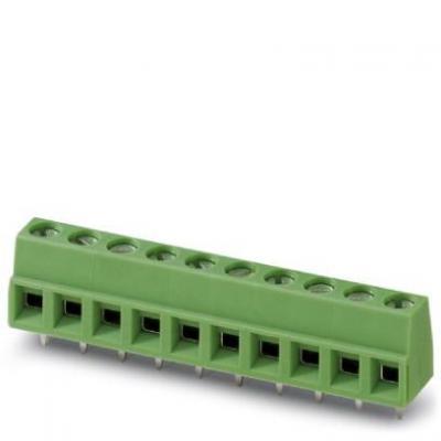 Phoenix contact elektrische aansluitklem: MKDSN 1,5/ 4 - Groen