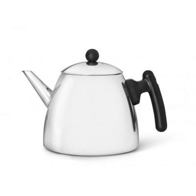 Bredemijer teapot: Classic - Zwart, Roestvrijstaal