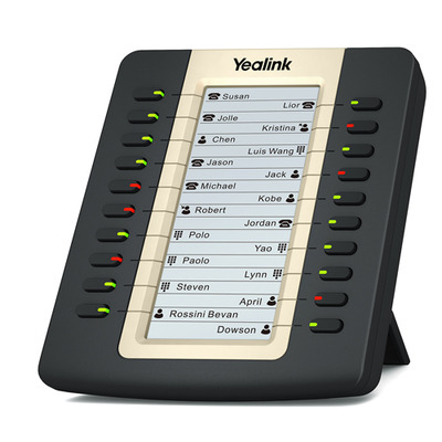 Yealink LCD Expansion Model for T27P/T29G, 2 x RJ-12 IP telefoon - Zwart