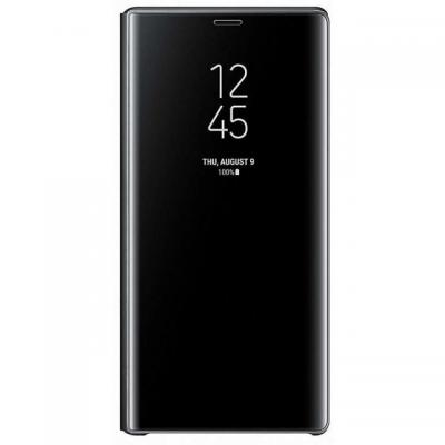 Samsung mobile phone case: Note 9 Clear View Standing Zwart