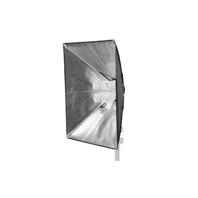Walimex lamp: Daylight 1000 with Softbox 50 x 70cm - Zwart, Wit