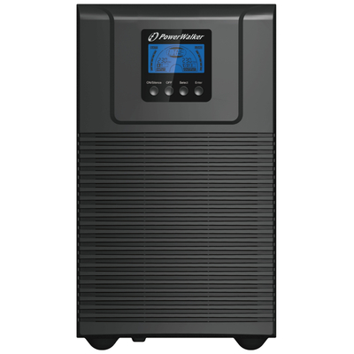 PowerWalker VFI 3000 TG UPS - Zwart