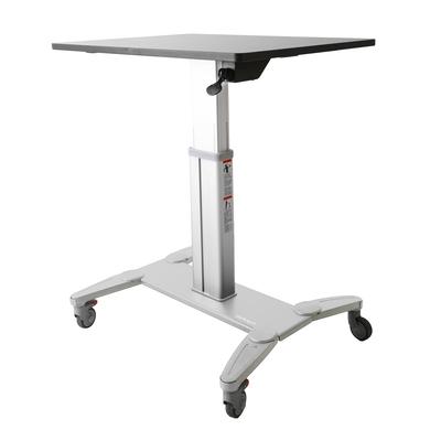 StarTech.com Mobiel zit-sta werkplek flexibel bureau computertafel flexplek vergrendelbaar in hoogte .....