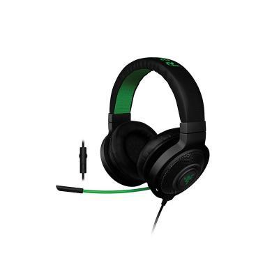 Razer headset: Kraken Pro - Zwart, Groen