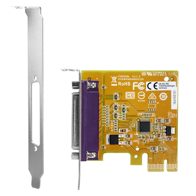 HP PCIe x1 Parallel Port Card Interfaceadapter