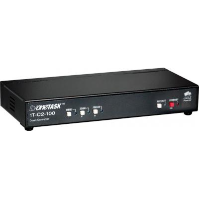 TV One HD-15 / 2 x Composite Video, 2 x S-Video, HD-15, 2048 x 2048, RS-232 Video converter - Zwart