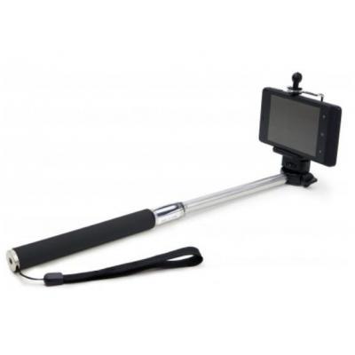 Dicota : Selfie Stick - Zwart, Roestvrijstaal