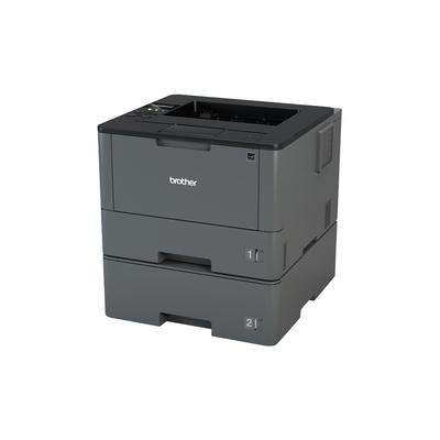 Brother Netwerk 40 ppm - 256 MB - interne duplexunit - LCD Display - 2 papierladen Laserprinter - Zwart