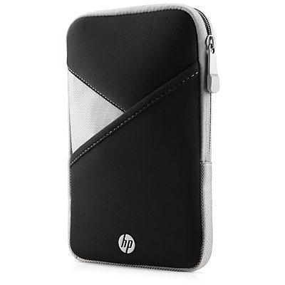 """Hp tablet case: tablethoes met rits, 17.78 cm (7"""") - Zwart, Grijs"""