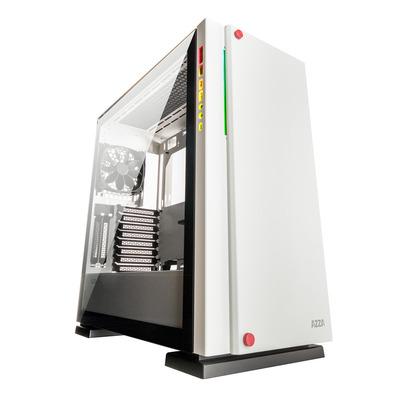 Azza Geh Fulltower ATX Zircon 7000W W/Win-Glas 2xUSB 3.0 Behuizing - Wit