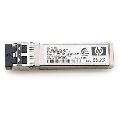 Hewlett Packard Enterprise HP 8Gb Short Wave Fibre Channel SFP+ 1 Pack Transceiver Netwerk .....