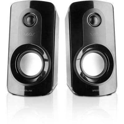 Speed-link luidspreker set: VEOS - Zwart
