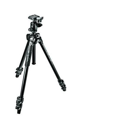 Manfrotto tripod: 3 sec. tripod with ball head - Zwart