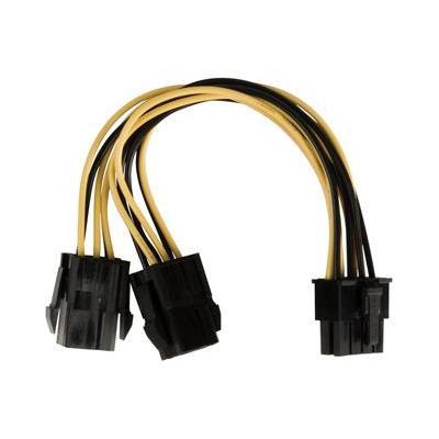Valueline electriciteitssnoer: EPS 8-pin/2x PCI Express, 0.15m - Multi kleuren