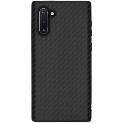 SolidSuit Backcover Galaxy Note 10 - Carbon Fiber Black - Zwart / Black Mobile phone case