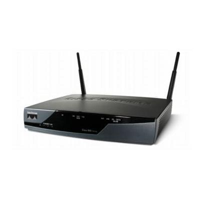 Cisco wireless router: 877 - Zwart