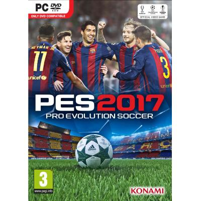 Konami game: Pro Evolution Soccer 2017  PC