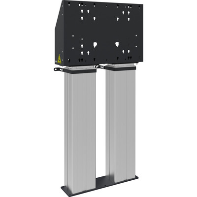 SmartMetals VESA, 600 x 400 mm, 1145 - 1745mm, 20 mm/s, 200 kg, 56 kg, Zwart, Aluminium Monitorarm - .....
