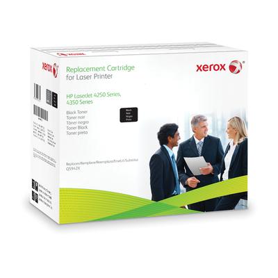 Xerox Zwarte cartridge. Gelijk aan HP Q5942X. Compatibel met HP LaserJet 4250, LaserJet 4350 Toner