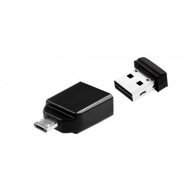 Verbatim USB flash drive: Store' n' Go Nano - Zwart
