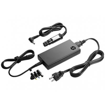 HP 90W Slim Combo Adapter w/ USB Netvoeding - Zwart