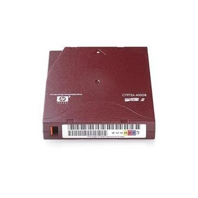 HP E LTO Ultrium 2 pre-labelled data cartridge 200 / 400GB 20-pack datatape