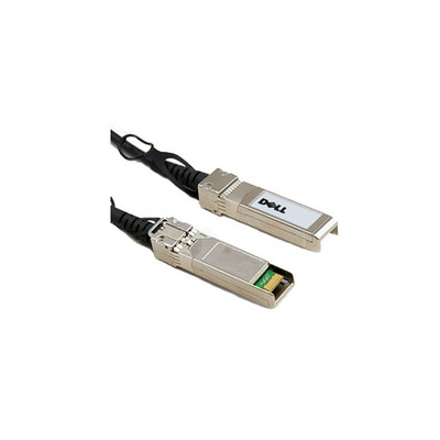Dell kabel: 6GB Mini to HD-Mini Serial Attached SCSI kabel 3M - Zwart