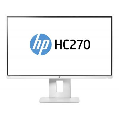 "Hp monitor: HC270 Healthcare Edition 27""  - Wit"