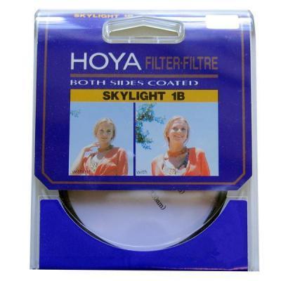 Hoya camera filter: Skylight 1B HMC 55mm - Zwart