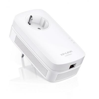 Tp-link powerline adapter: AV1200 Gigabit Passthrough Powerline Adapter - Wit