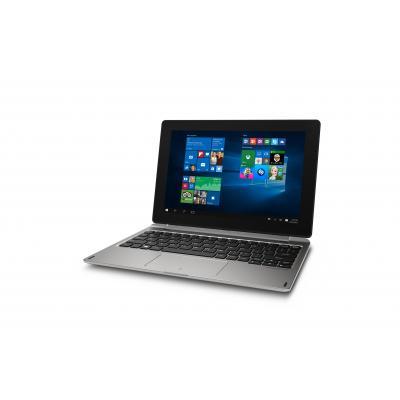 Medion laptop: AKOYA E1239T - Zwart, Zilver