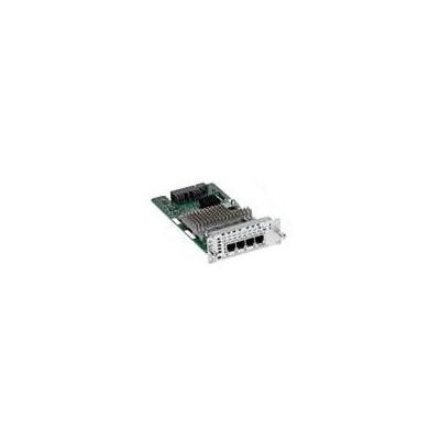 Cisco voice network module: 4-Port E/M Network Interface Module, spare