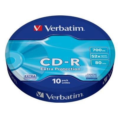 Verbatim CD: CD-R 700MB 52x 10-pack