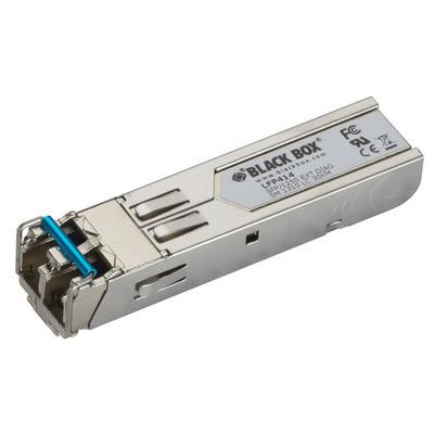 Black Box SFP, 1250-Mbps Fiber with Extended Diagnostics, 1310-nm Single-Mode, LC, 30 km Netwerk tranceiver .....