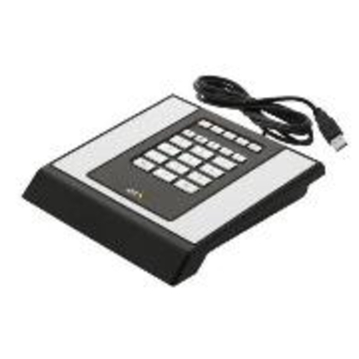 Axis input device: T8312 - Zwart, Wit