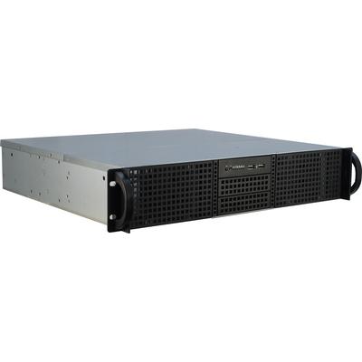 Inter-Tech 2U-20240 Behuizing - Zwart
