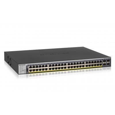 Netgear ProSAFE GS752TP 48-Port Gigabit PoE+ Smart Managed Pro Switch - Zwart