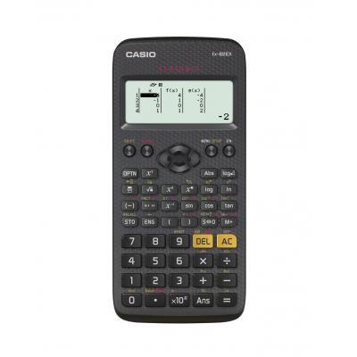 Casio LCD 192x63, 100g, black Calculator - Zwart