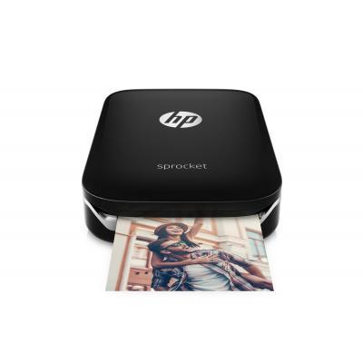 Hp fotoprinter: Sprocket Photo Printer - Zwart
