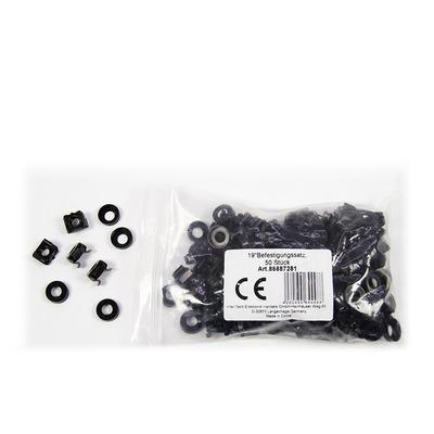 Inter-Tech 88887281 Montagekit - Zwart
