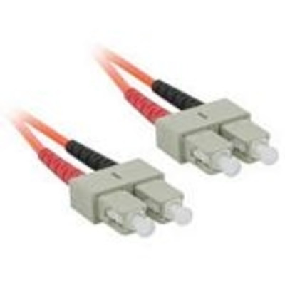 C2G 3m SC/SC LSZH Duplex 62.5/125 Multimode Fibre Patch Cable Fiber optic kabel