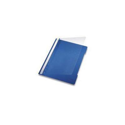 Leitz Standard Plastic File A4 Blue (1 stuks) Stofklepmap - Blauw