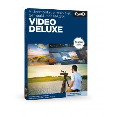 Magix grafische software: Magix, Videomontage makkelijk gemaakt met Video Deluxe (Boek)