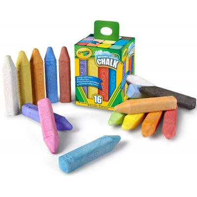 Crayola krijt: 16st. Stoepkrijt