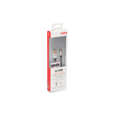 ASSMANN Electronic USB 2.0-aansluitkabel, type A - micro B M/M, 1,0 m, High Speed, stekker .....