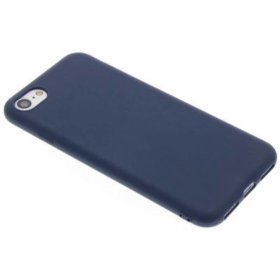 CP-CASES Color Backcover iPhone SE (2020) / 8 / 7 - Donkerblauw / Dark Blue Mobile phone case